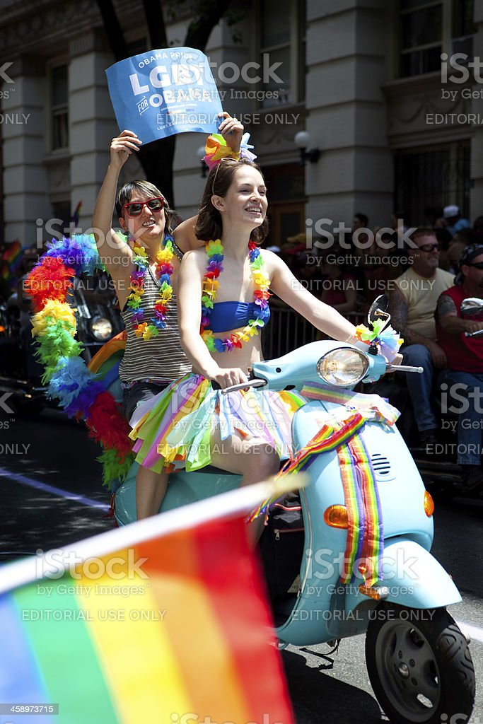 New York City Gay Pride Parade royalty-free stock photo