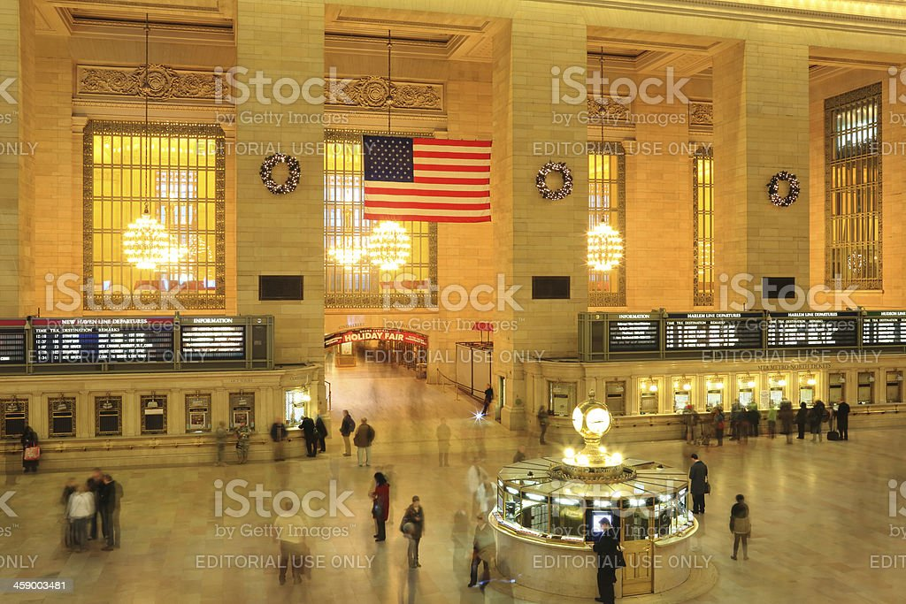 New York City: Grand Central royalty-free stock photo