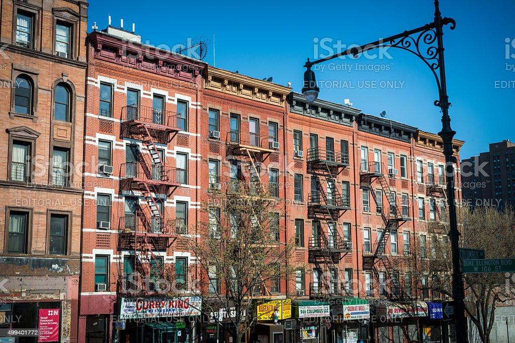 New York City - Harlem stock photo