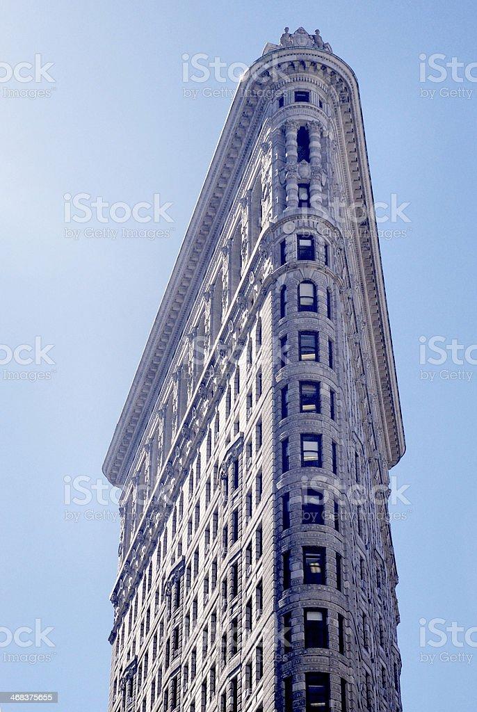 New York City landmarks - Flatiron building stock photo