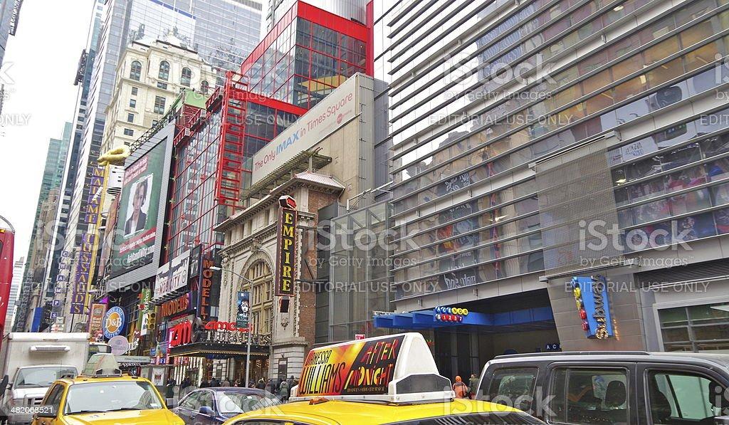 New York City life stock photo