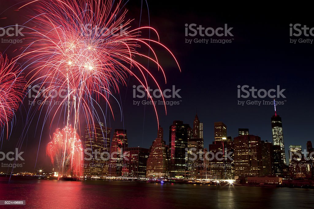 New York City - Lower Manhattan (2014) stock photo