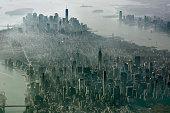 New York City, Manhattan Aerial View