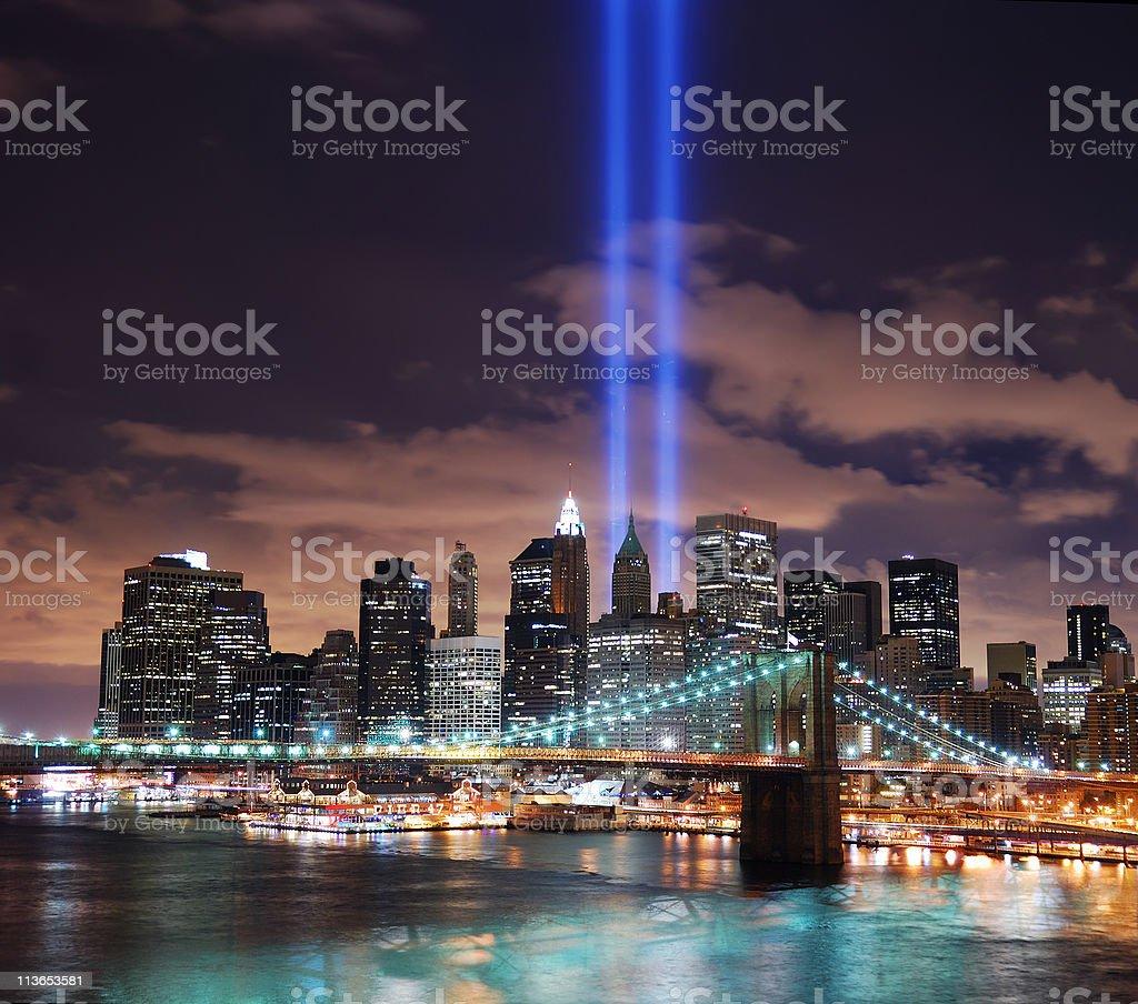 New York City Manhattan panorama royalty-free stock photo