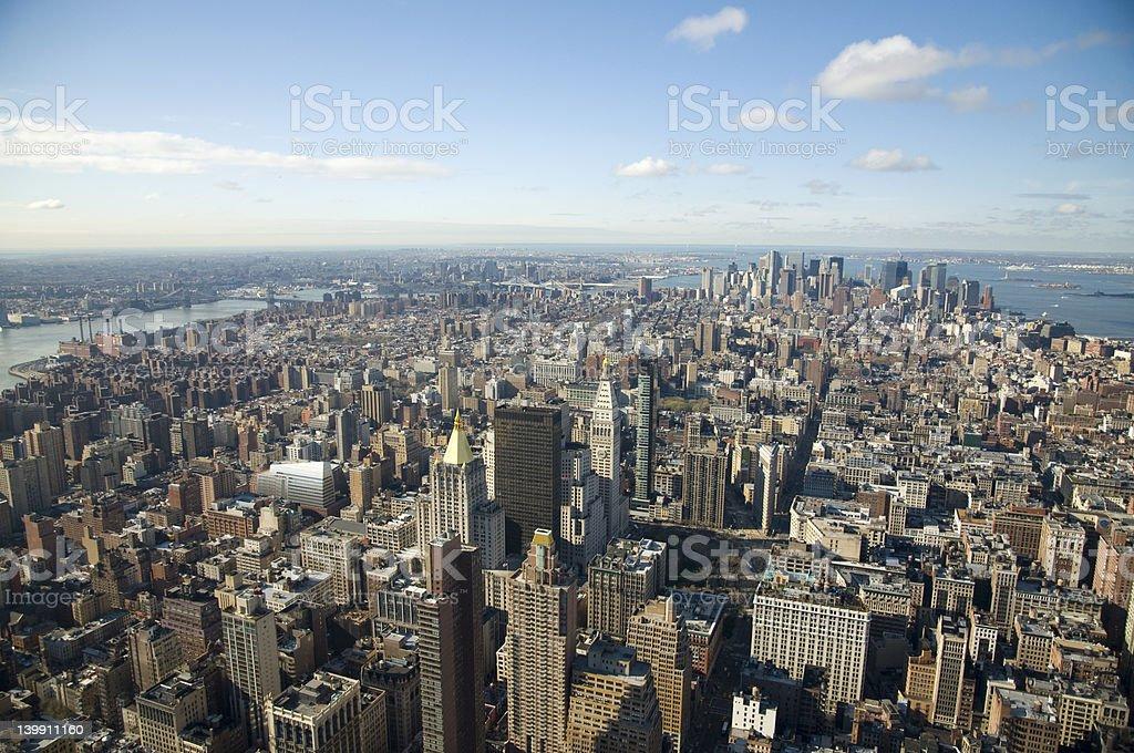 New York City, Manhattan stock photo