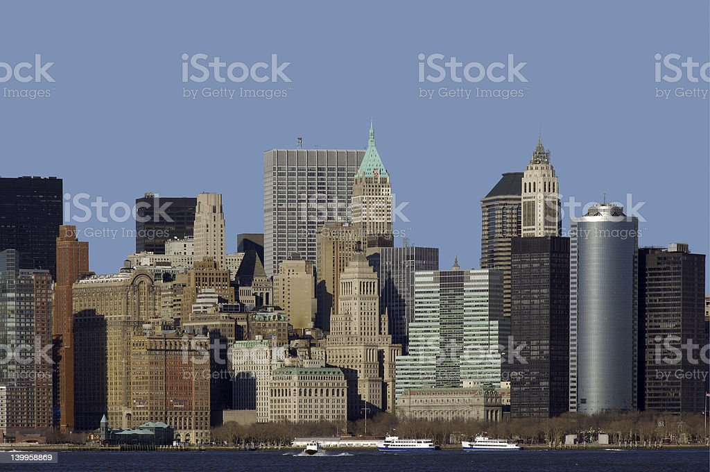 New York City, Manhattan royalty-free stock photo