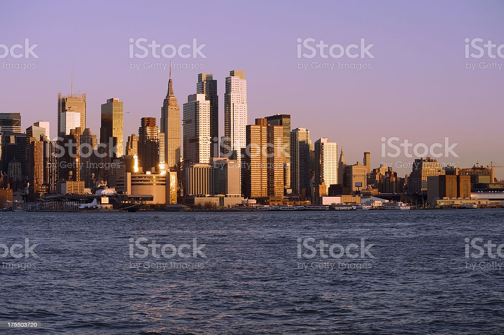 New York City Manhattan royalty-free stock photo