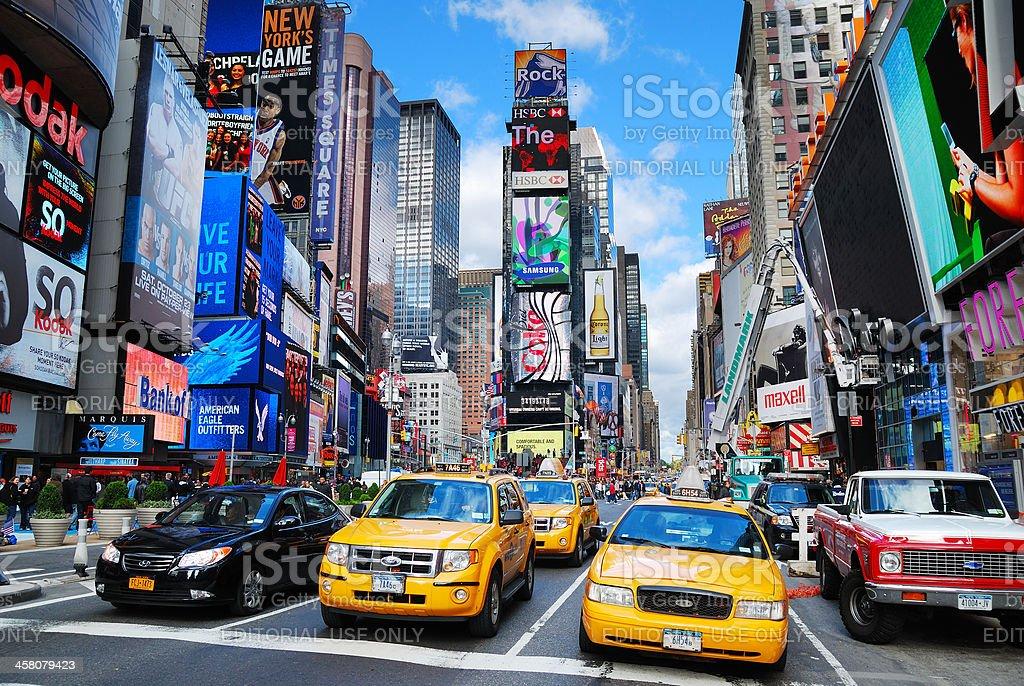 New York City Manhattan Times Square royalty-free stock photo