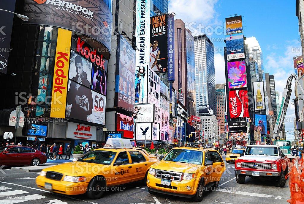 New York City Manhattan Times Square stock photo