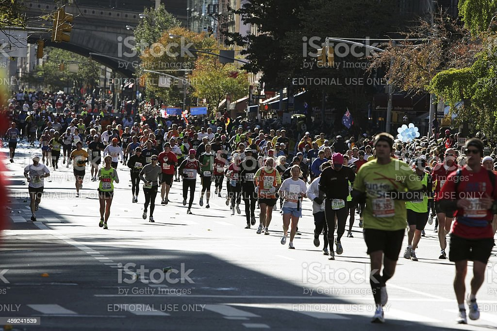 New York City Marathon royalty-free stock photo