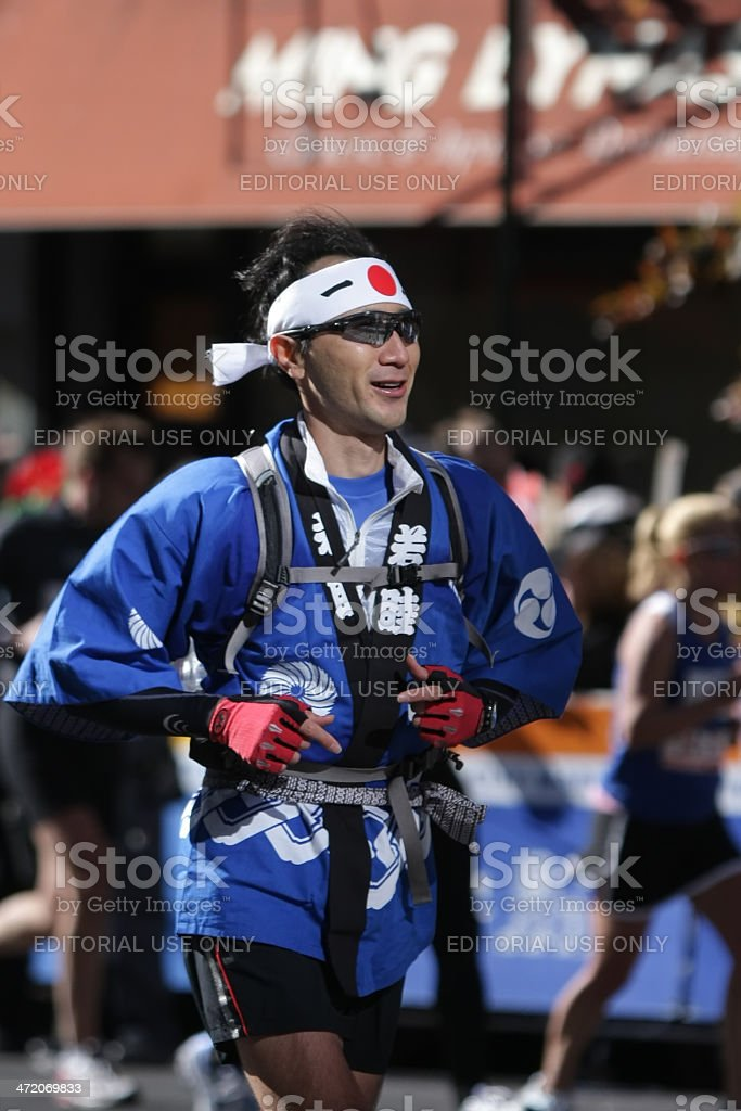 New York City Marathon stock photo