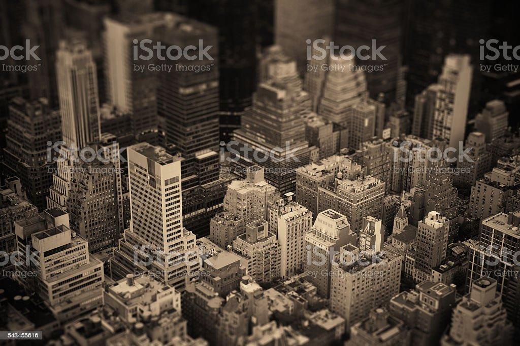 New York City Midtown stock photo