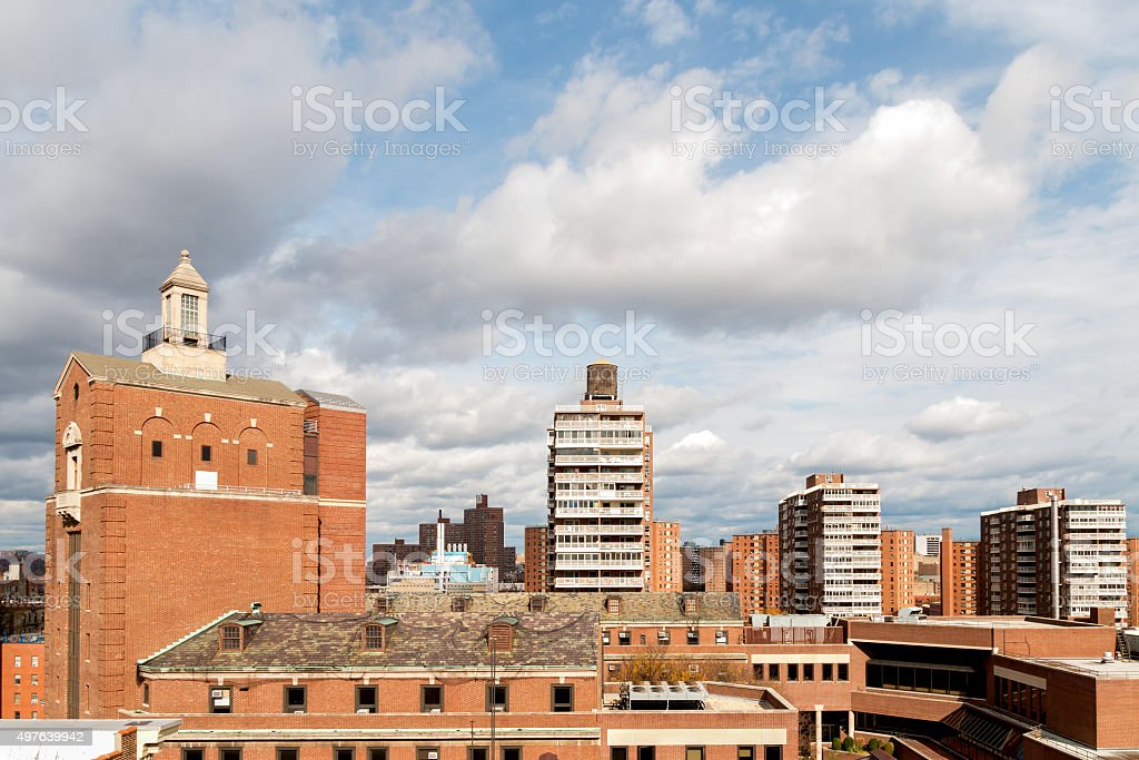 New York City - Morningside Heights Skyline stock photo