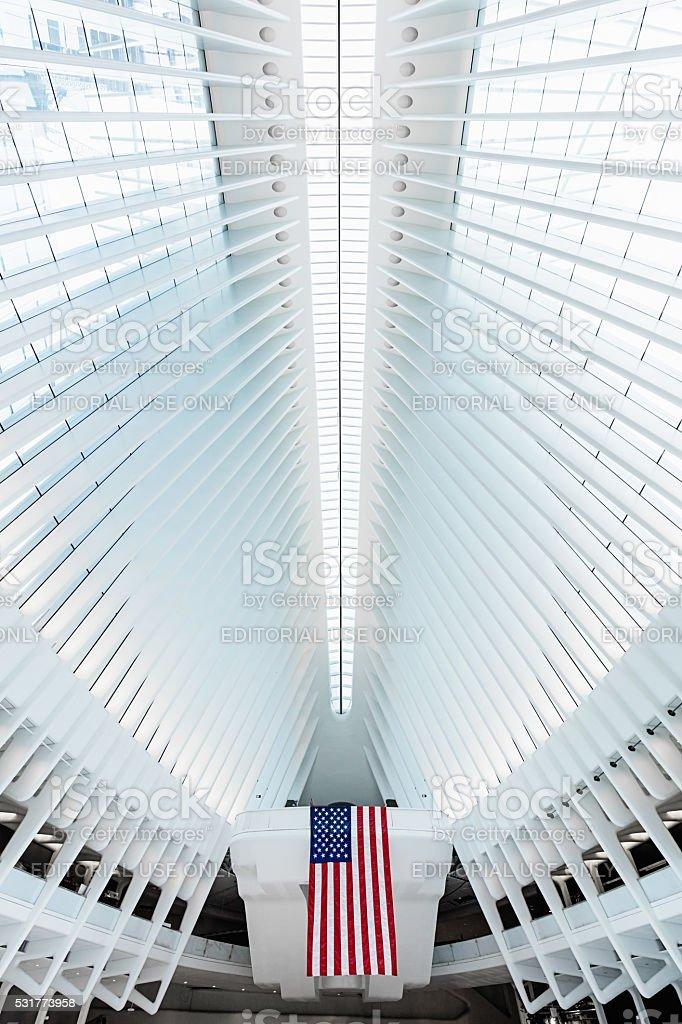 New York City Oculus WTC Transportation Hub stock photo