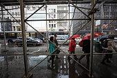 New York City on a rainy day, United States