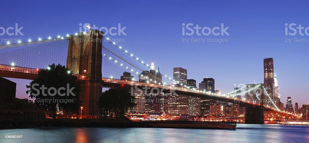 New York City panorama royalty-free stock photo