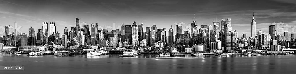 New York City panorama stock photo