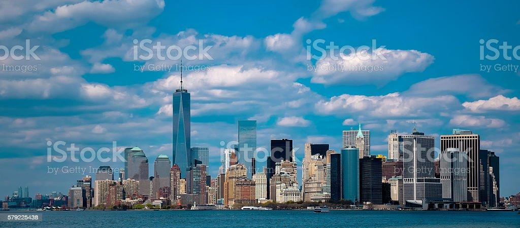 New York City Panoramic skyline stock photo
