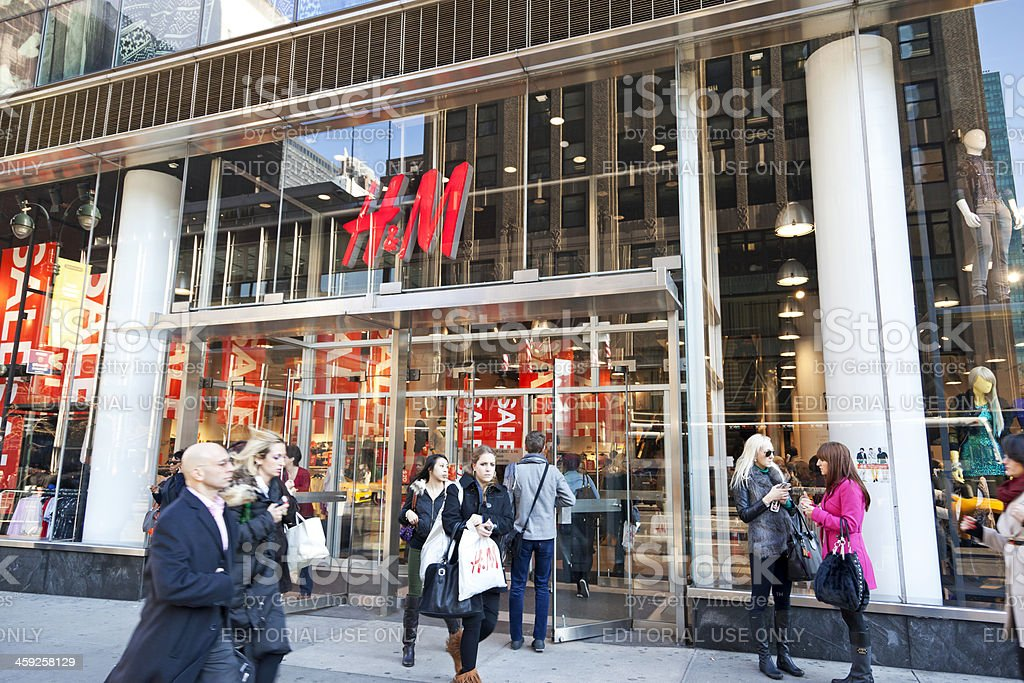 H&M New York City # 1 stock photo