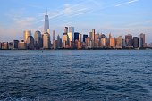 New York City skyline at sunset - Lower Manhattan