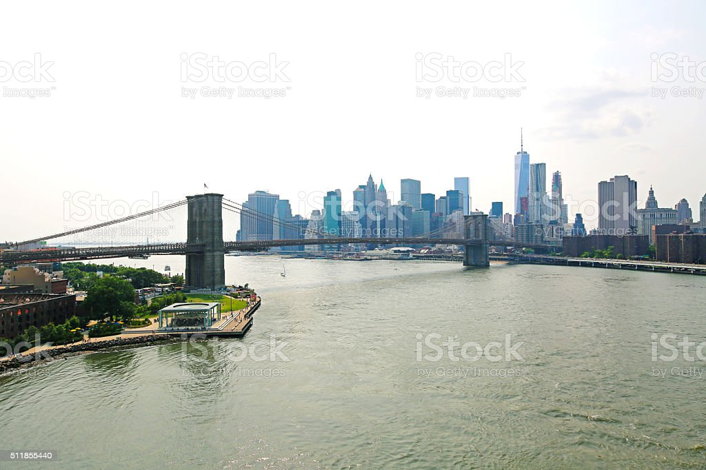 New York City Skyline NEW stock photo