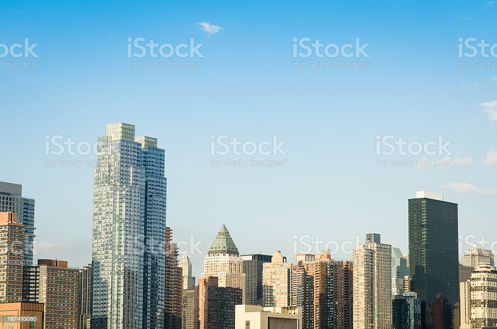 New york city skyline royalty-free stock photo