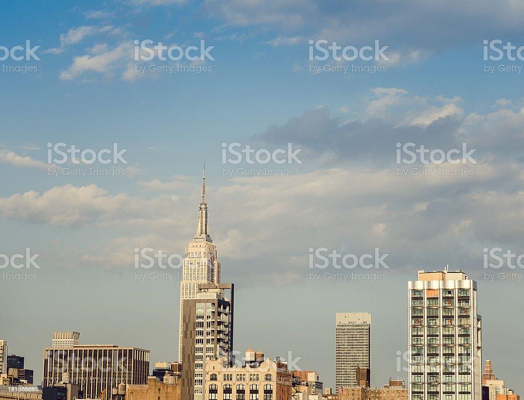 New york city skyline royalty-free stock photo