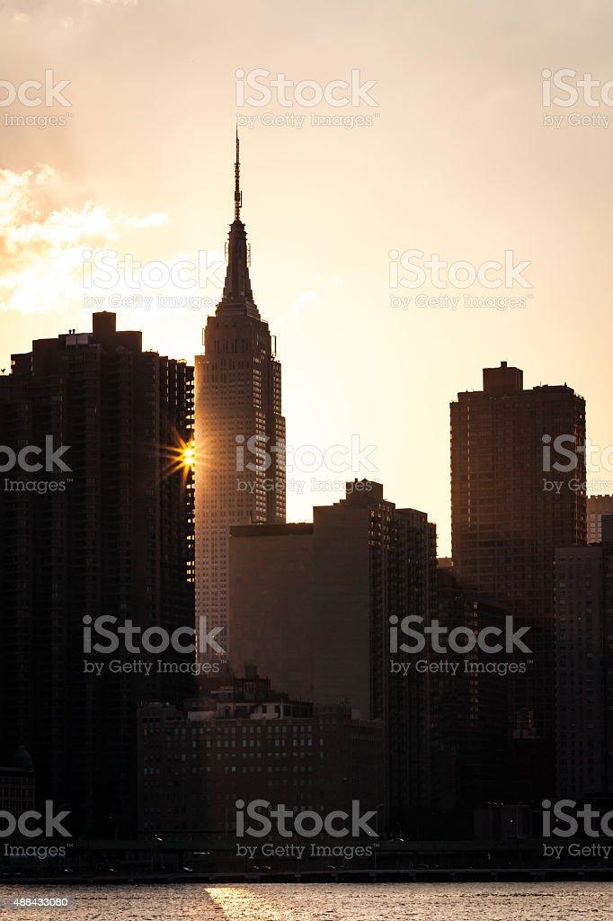 New York City Skyline stock photo
