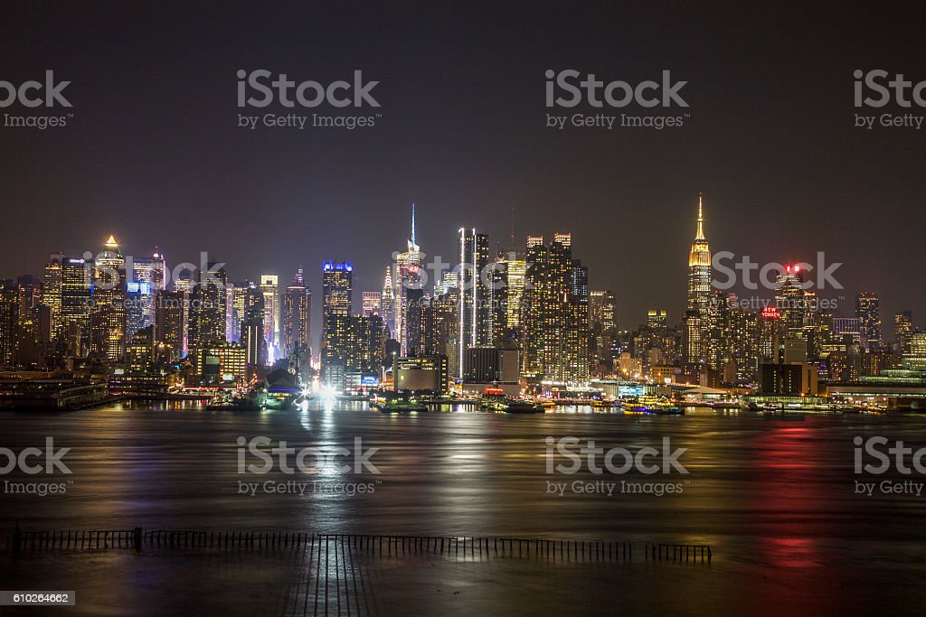 New York City (Manhattan) Skyline stock photo