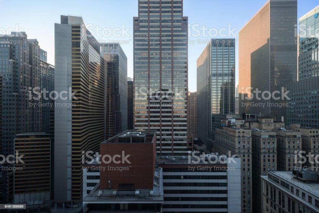 New York City - Skyline Times Square stock photo