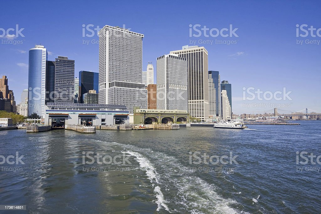 New York City skyline XL royalty-free stock photo
