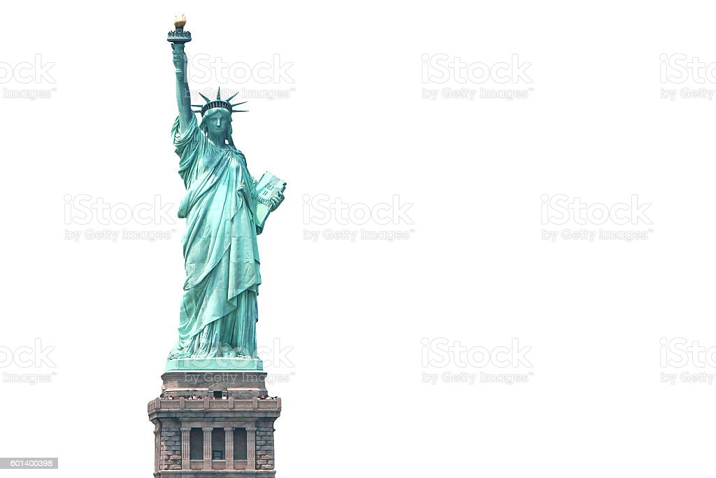 New York City Statue of Liberty stock photo