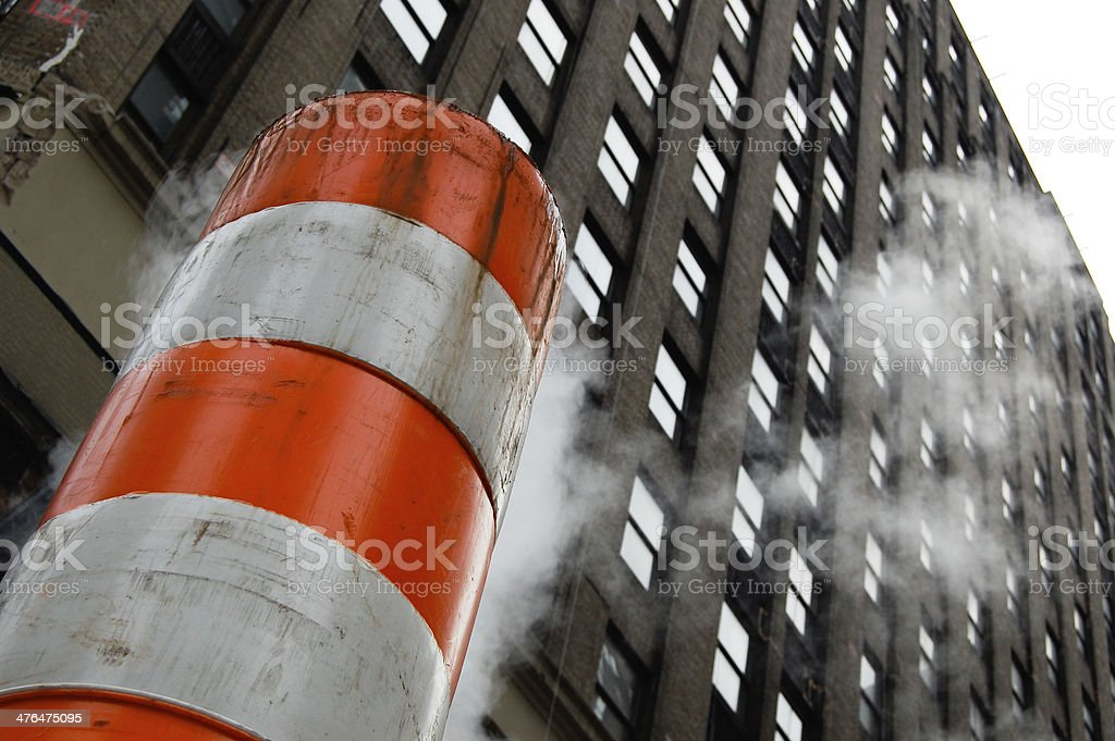 New York City Steam royalty-free stock photo