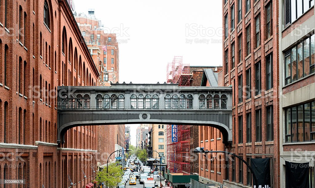 New York City, street scene stock photo