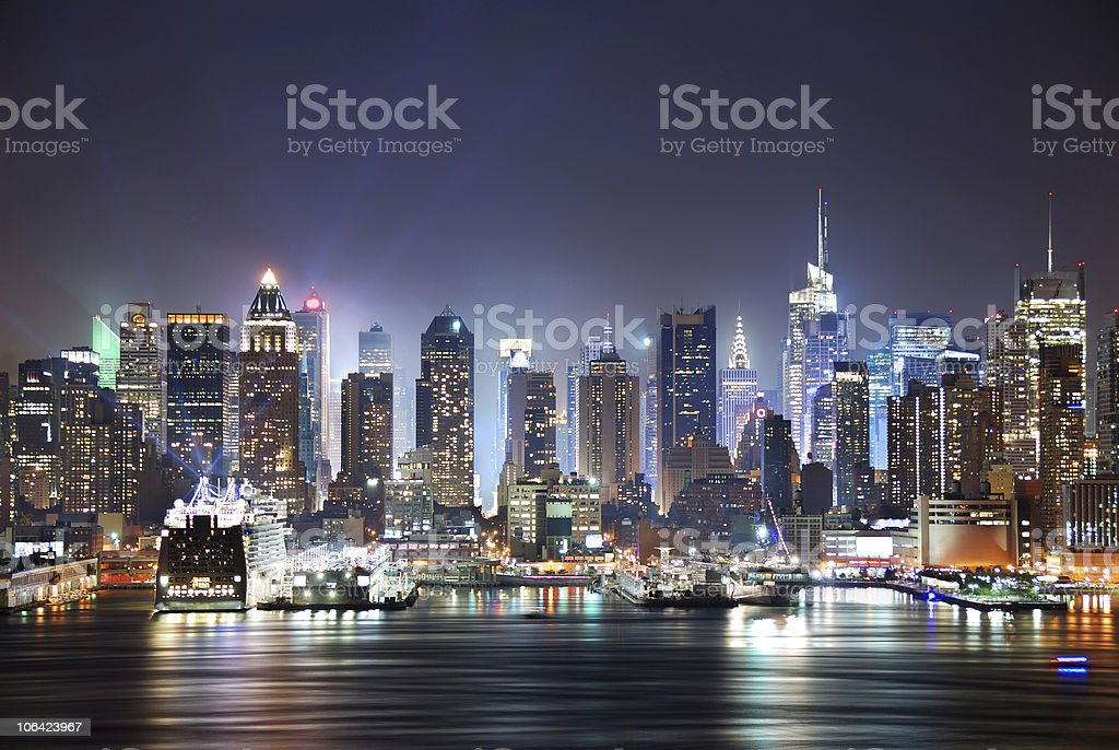 New York City Times Square royalty-free stock photo