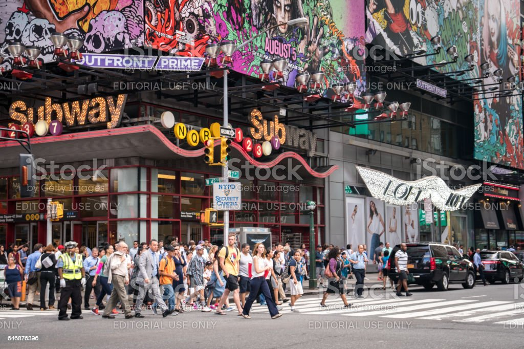 New York City - Times Square - USA stock photo