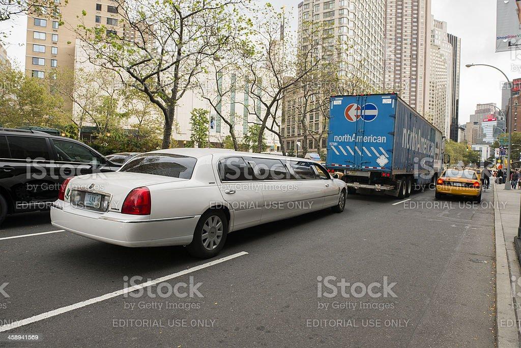 New York CIty Traffic stock photo