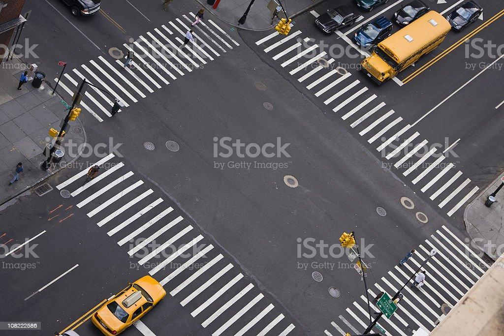 New York City traffic # 6 XL stock photo