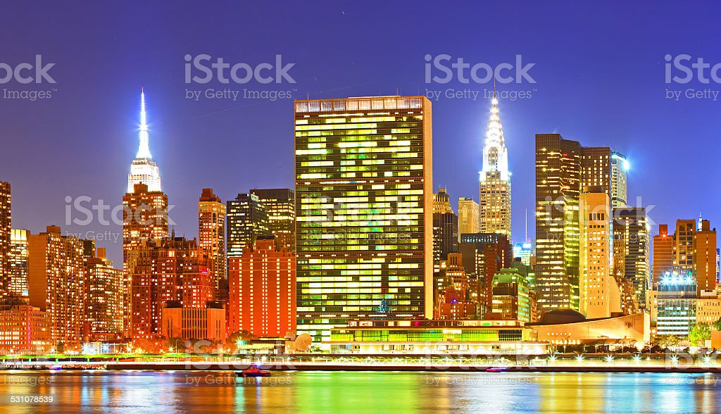 New York City, USA. stock photo