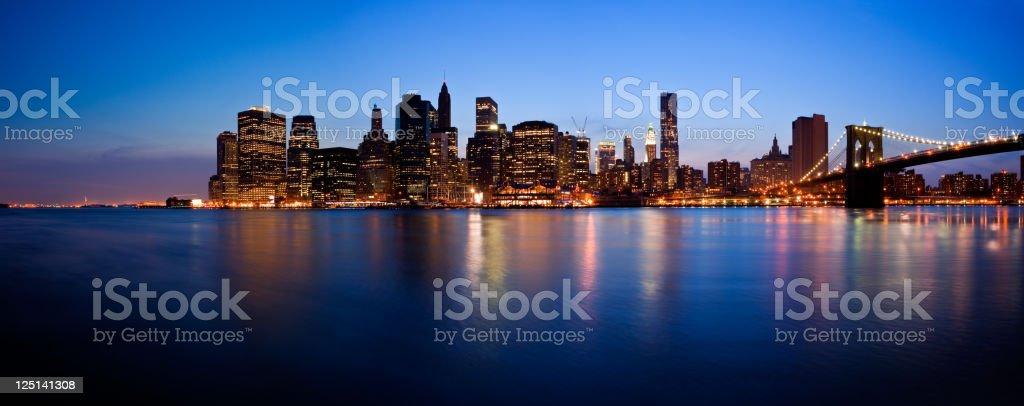 New York City, USA skyline royalty-free stock photo