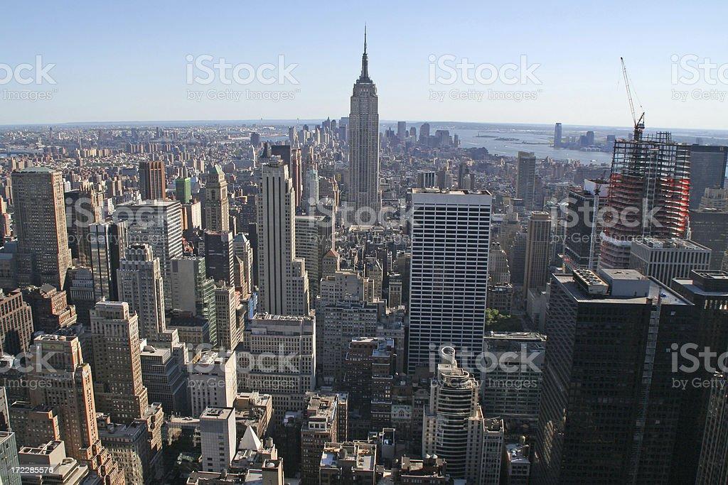 New York City view # 4 royalty-free stock photo