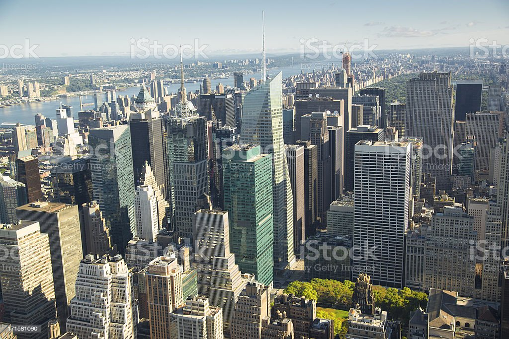 New York city view XXXL stock photo