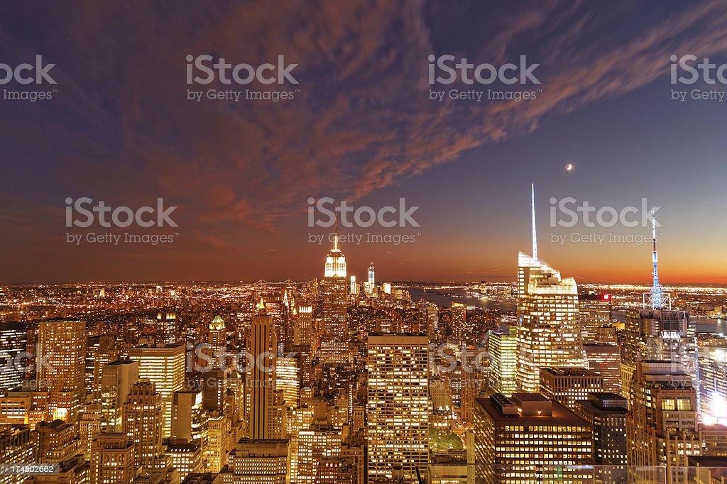 New York city XXXL royalty-free stock photo