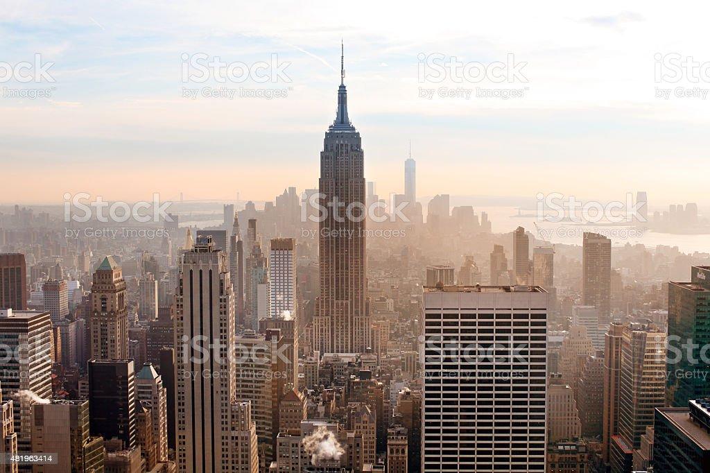 New York City.Manhattan stock photo