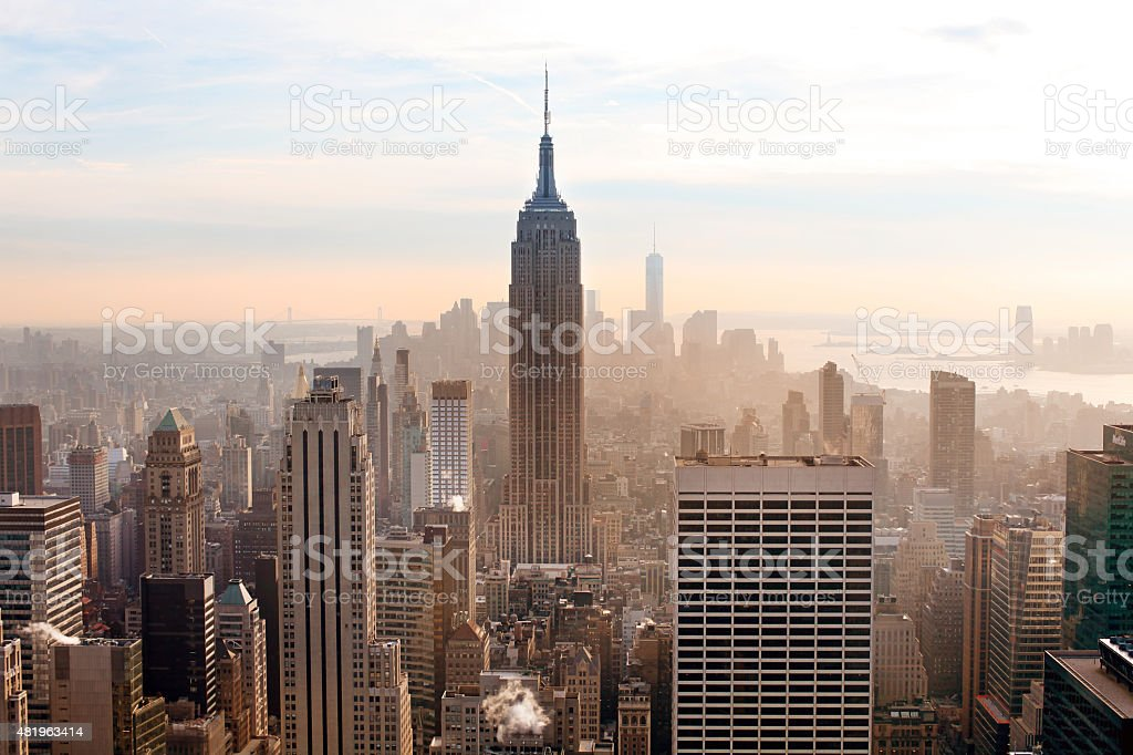New York City.Manhattan stock photo