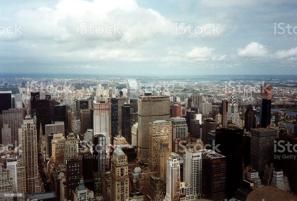 New York cityscape, USA stock photo