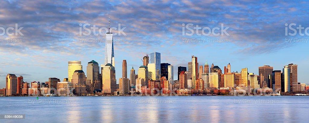 New York cityscape, USA stock photo