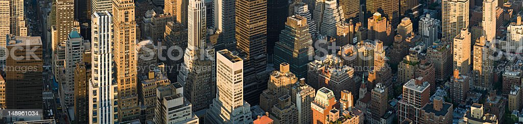New York crowded citadels royalty-free stock photo