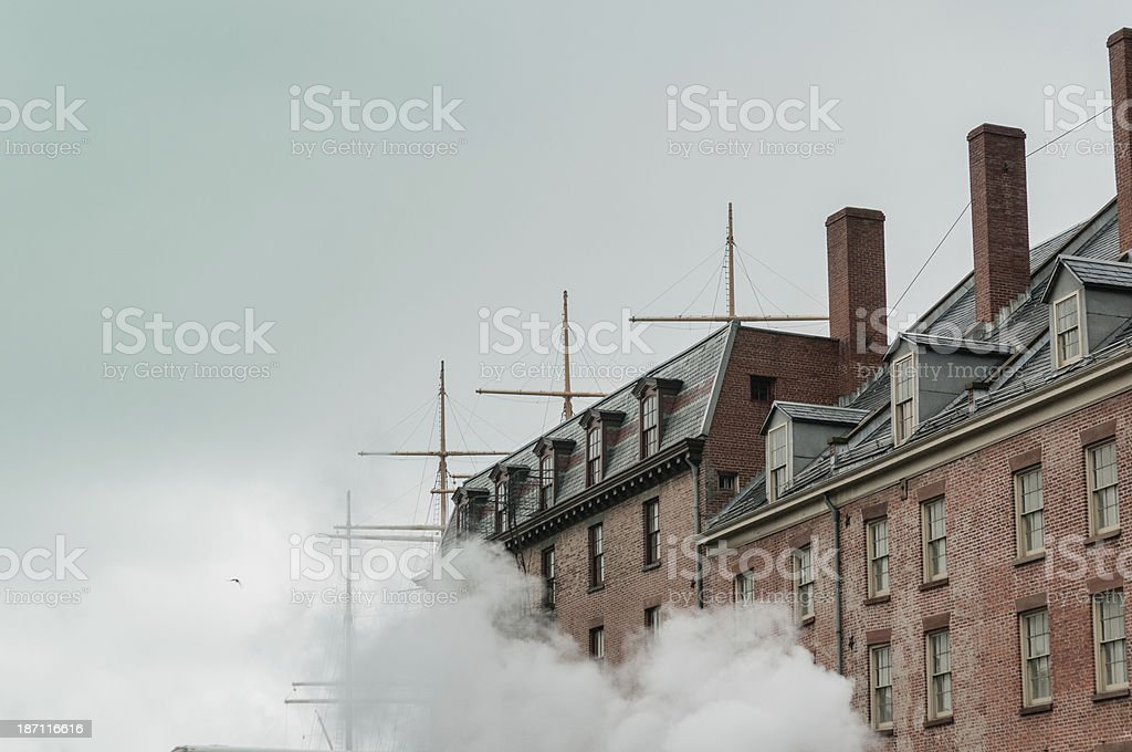 New York Docks stock photo