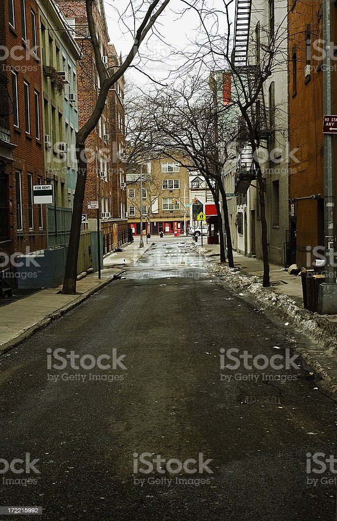 new york downtown village royalty-free stock photo